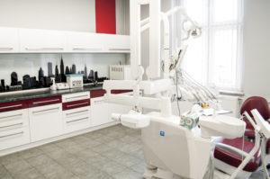 Wnętrze gabinetu dentystycznego Mateusza Kufiety